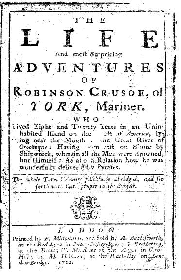 Robinson Crusoe by Daniel Defoe Download Free Ebook