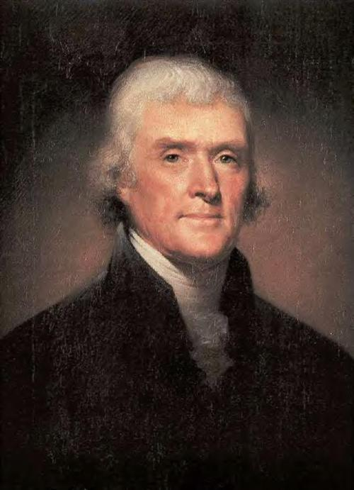 Thomas Jefferson  (1757--1826)