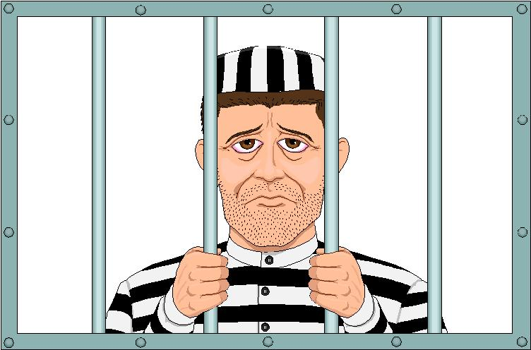 POOFness for NOV 30: THE PROCESS (OF SCAMMING MORE DONATIONS FROM AN INTERNET PANHANDLER) Man-in-prison-behind-bars-jail