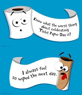 happy-toilet-paper-day | THE B.S. REPORT