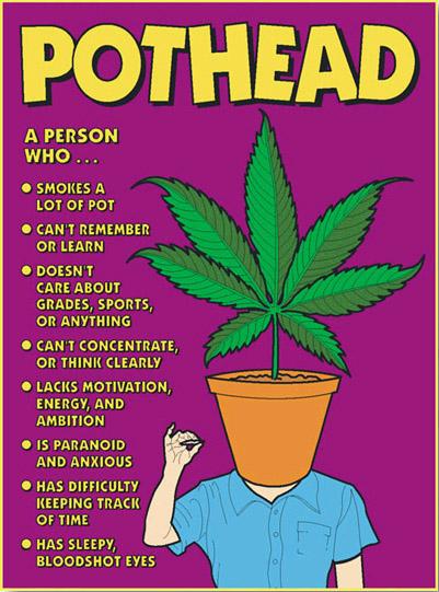 I hate potheads