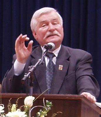 lech walesa 709935 Il Cristo Pensante sarà visitato dal premio nobel Lech Walesa leader di Solidarnosc