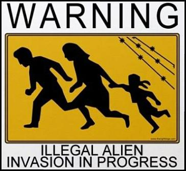 Illegal Al;ein Invasion in Progress