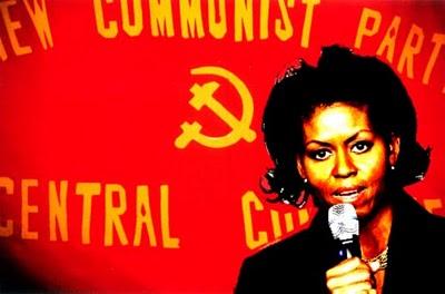 michelle+obama+communist