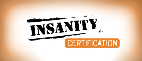 insanity-certification