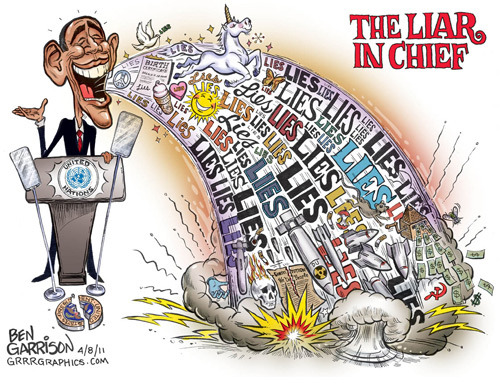 Obama-Spewing-Lies