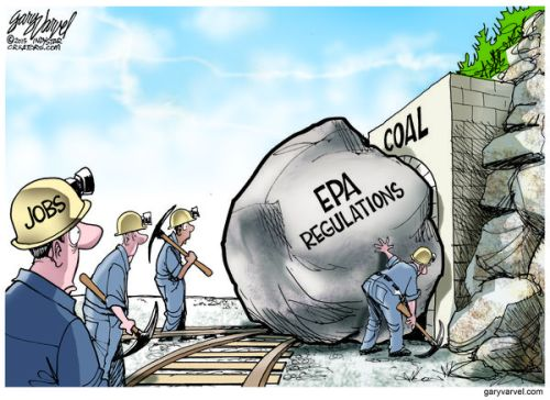 President Obama's new EPA regulations will kill jobs.